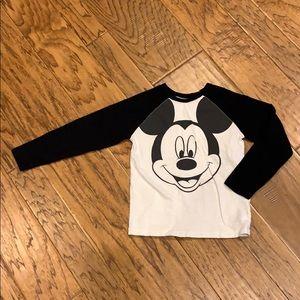 Mickey Mouse Old Navy Raglan